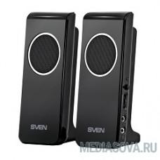 SVEN 314, черный 2.0, 2 х 2 W RMS, USB