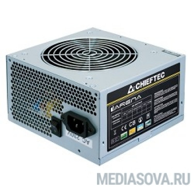 Блок питания Chieftec 450W OEM [GPA-450S8] ATX-12V V.2.3 PSU with 12 cm fan, Active PFC, ficiency >80% 230V only