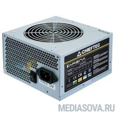 Блок питания Chieftec 500W OEM [GPA-500S8] ATX-12V V.2.3 PSU with 12 cm fan, Active PFC, ficiency >80% 230V only