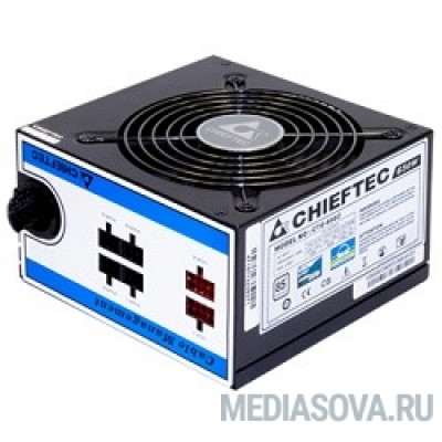 Блок питания Chieftec 650W RTL [CTG-650C] ATX-12V V.2.3/EPS-12V, PS-2 type with 12cm Fan, PFC,Cable Management ,Efficiency >85  , 230V ONLY
