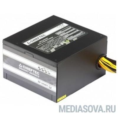Блок питания Chieftec 650W RTL [GPS-650A8] ATX-12V V.2.3 PSU with 12 cm fan, Active PFC, fficiency >80% with power cord 230V only