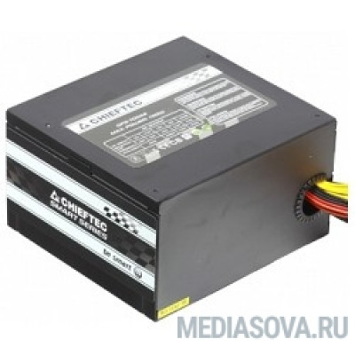 Блок питания Chieftec 700W RTL [GPS-700A8] ATX-12V V.2.3 PSU with 12 cm fan, Active PFC, fficiency >80% with power cord 230V only