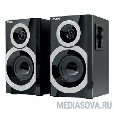 SVEN SPS-619, чёрный акустическая система 2.0, мощность 2х10 Вт(RMS)