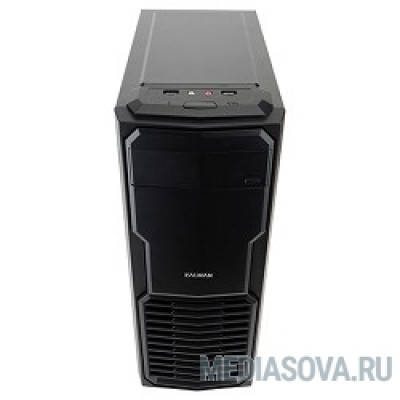 Minitower Zalman ZM-T4  mATX, Mini-ITX, блок питания: нет, вентилятор: 120 мм, размеры: 189 x 427 x 364 мм, дополнительно: USB x2, включая один USB 3.0, наушники, микрофон