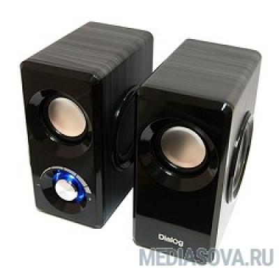 Dialog AST-25UP Black 2*3W RMS, активные