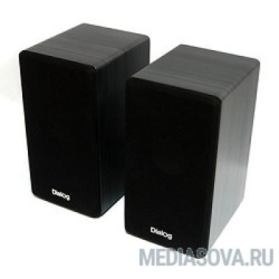 Dialog AST-20UP Black 2*3W RMS, активные