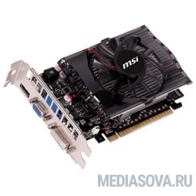 Видеокарта MSI N730-2GD3 (V2.0)  RTL GT730, 2GB, DDR3, 128bit, DVI, HDMI, D-Sub, PCI-E