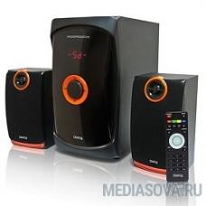 Dialog Progressive AP-200 BLACK  2.1, 30W+2*15W RMS, USB+SD reader