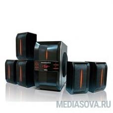 Dialog Progressive AP-540 BLACK акустические колонки 5.1, 40W+5*12W RMS,  USB+SD reader