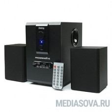 Dialog Progressive AP-150 Black акустические колонки 2.1, 5W+2*2,5W RMS, USB+SD reader