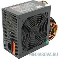 Exegate EX221636RUS Блок питания 400W ATX-400NPXE(+PFC), black, 12cm fan, 24+4pin, 6pin PCI-E, 3*SATA