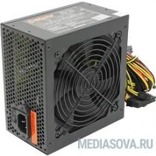 Exegate EX219463RUS / 251775 Блок питания 500W ATX-XP500 OEM, black, 12cm fan, 24+4pin, (6+2)pin PCI-E, 3*SATA, 1*FDD, 2*IDE