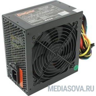 Блок питания Exegate EX219465RUS Блок питания 600W ATX-XP600 OEM, black, 12cm fan, 24+4p, (6+2)p PCI-E, 3*SATA, 1*FDD, 2*IDE