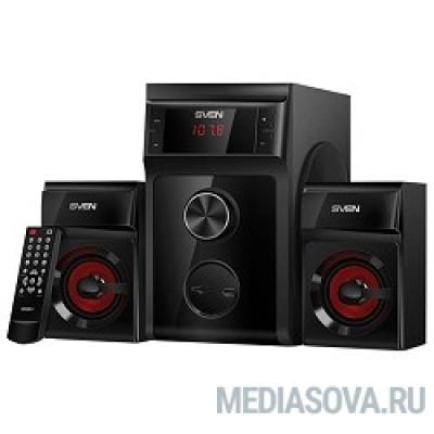 SVEN (AC) MS-302, черный (40 Вт, FM-тюнер, USB/SD, дисплей, ПДУ)