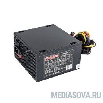 Блок питания Exegate EX221637RUS Блок питания 450W ATX-450NPXE(+PFC), black, 12cm fan, 24+4pin, 6pin PCI-E, 3*SATA