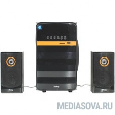 Dialog Progressive AP-240B BLACK - акустические колонки 2.1, 50W+2*10W RMS, Bluetooth, USB+SD reader