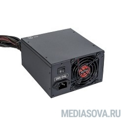 Блок питания Exegate EX235029RUS Блок питания 500W <RM-500ADS> APFC,2х8 cm fan, 20+4pin/(4+4)pin , 2xPCI-E , 9xSATA  ((Server) PRO)