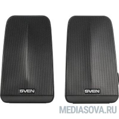 SVEN 380, чёрный (6 Вт, питание USB, пассивный излучатель)