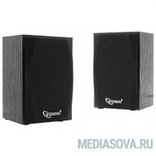 Акустич. система 2.0 Gembird SPK-201 МДФ, черный ,2х2,5 Вт,USB-питание