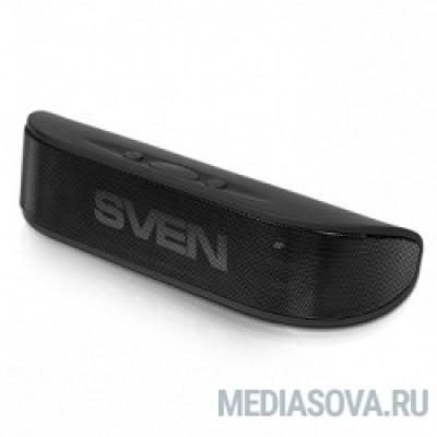 SVEN PS-70BL черный Радиус действия – до 10 метров, Bluetooth, Время работы от аккумулятора – до 7 часов