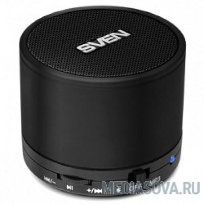 SVEN PS-45BL черный AUX, Bluetooth, FM-радио, microSD
