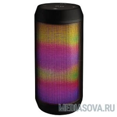 Ginzzu GM-898B BT-Колонка 2x3W/4Ah/USB/TF/AUX/FM/цветомузыка