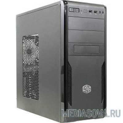 Cooler Master Force 251  [FOR-251-KKN2]  Mid tower, USB 2.0 x 2, 1xFan, Black, ATX, w/o PSU