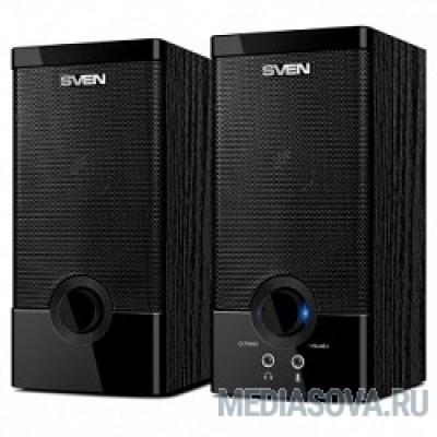 SVEN SPS-603 черный USB-порт ПК, ноутбука или адаптер 5V DC