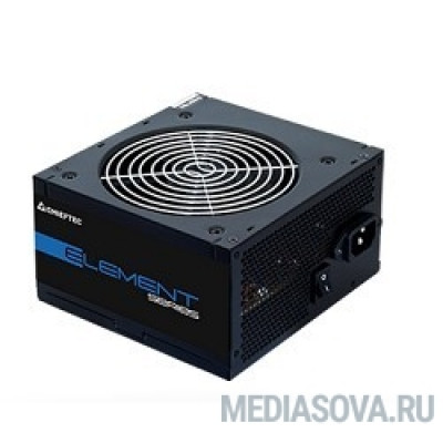 Блок питания Chieftec 700W OEM (ELP-700S) ATX 2.3, 80 PLUS BRONZE, 85% эфф, Active PFC, 120mm fan, Black