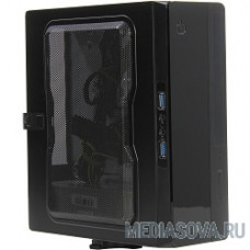 EQ101BK PM-200ATX  U3.0*2AXXX  Slim Case  (PSU Powerman) [6117414]