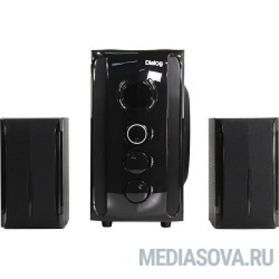 Dialog Progressive AP-209 BLACK - акустические колонки 2.1, 30W+2*15W RMS,Bluetooth,FM,USB+SD reader