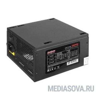 Блок питания Exegate EX260643RUS Блок питания 600W Exegate 600PPE, ATX, black, APFC, 12cm, 24p+(4+4)p, PCI-E, 5*SATA, 3*IDE,  FDD