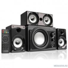 Акустическая система 3.1 CROWN CMBS-390 (МДФ, Bluetooth, 15W+8W*3=39W; приёмник FM; картридер; интерфейс USB; IR пульт, дополнительная фронтальная колонка)