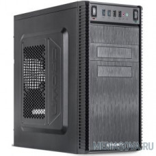 CROWN Корпус MiniTower CMC-403 black mATX (CM-500office)