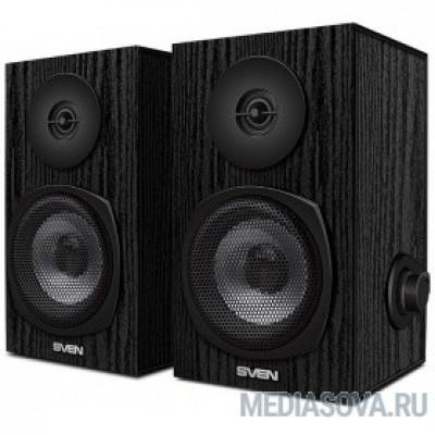 SVEN SPS-575 черный 6Вт, 80-20 000Гц, размеры 20*185*120