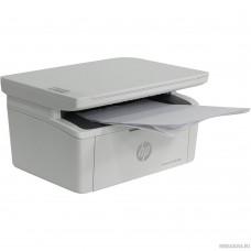 HP LaserJet Pro M28w <W2G55A> принтер/сканер/копир, A4, 18 стр/мин, 32Мб, USB, WiFi