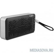 CBR CMS 144Bt черный/серебро Bluetooth колонка 3.0, 80-18000 Гц, 6 Вт