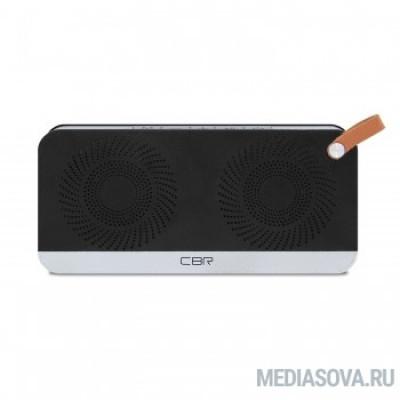 CBR CMS 147Bt черный/серебро Bluetooth колонка 3.0, 80-18000 Гц, 5 Вт*2