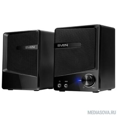 SVEN 248, черный (6 Вт, питание USB)