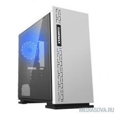 GameMax [H605 WHT EXPEDITION WHT] без БП (Midi Tower, ATX, White) (со стеклом)