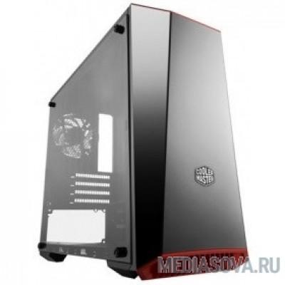 Cooler Master MasterBox 3 Lite 3.1 [MCW-L3B3-KANN-01] , miniTower, USB 3.0 x 1, USB 2.0 x 1, 1x120Fan, Black, Customizable Trim, mATX, w/o PSU