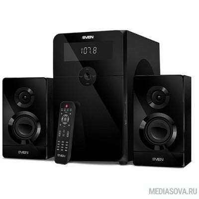 SVEN AC MS-2250, черный (80Вт, FM-тюнер, USB/SD, дисплей, ПДУ, Bluetooth)