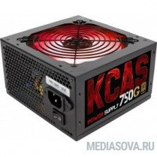 Aerocool 750W RTL KCAS-750G 80+ Gold  RGB ATX V2.3(20/24+4/8+6/8pin, d140mm) RTL