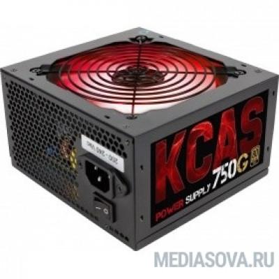 Блок питания Aerocool 750W RTL KCAS-750G 80+ Gold  RGB ATX V2.3(20/24+4/8+6/8pin, d140mm) RTL
