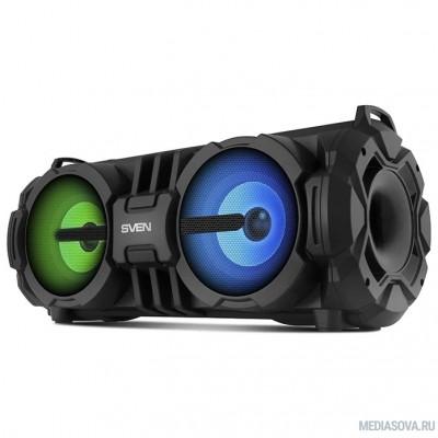 SVEN PS-485,  черный  (28  Вт,  Bluetooth,  FM,  USB,  microSD,