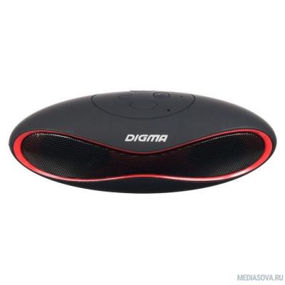 Digma S-10 черный 3W 1.0 BT (SP103B)