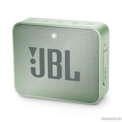 JBL GO 2 светло-зеленый 3W 1.0 BT/3.5Jack 730mAh (JBLGO2MINT)