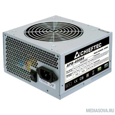 Блок питания Chieftec 400W OEM (APB-400B8) ATX v.2.3, A.PFC, Fan 12cm