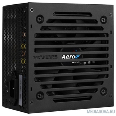Блок питания Aerocool 800W VX-800 PLUS  (24+4+4pin) 120mm fan 3xSATA RTL
