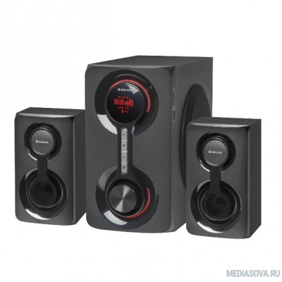 Defender Акустическая 2.1 система Tornado 60Вт, Bluetooth, FM/MP3/SD/USB